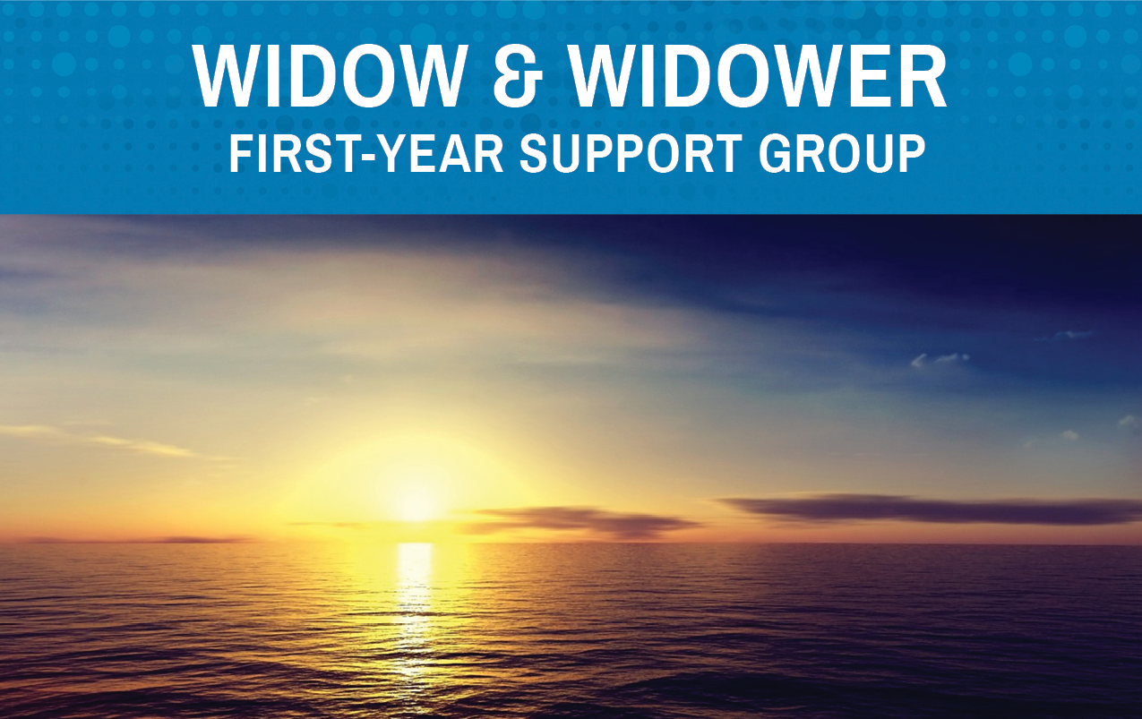 Widow & Widower First-Year Support Group Event Image