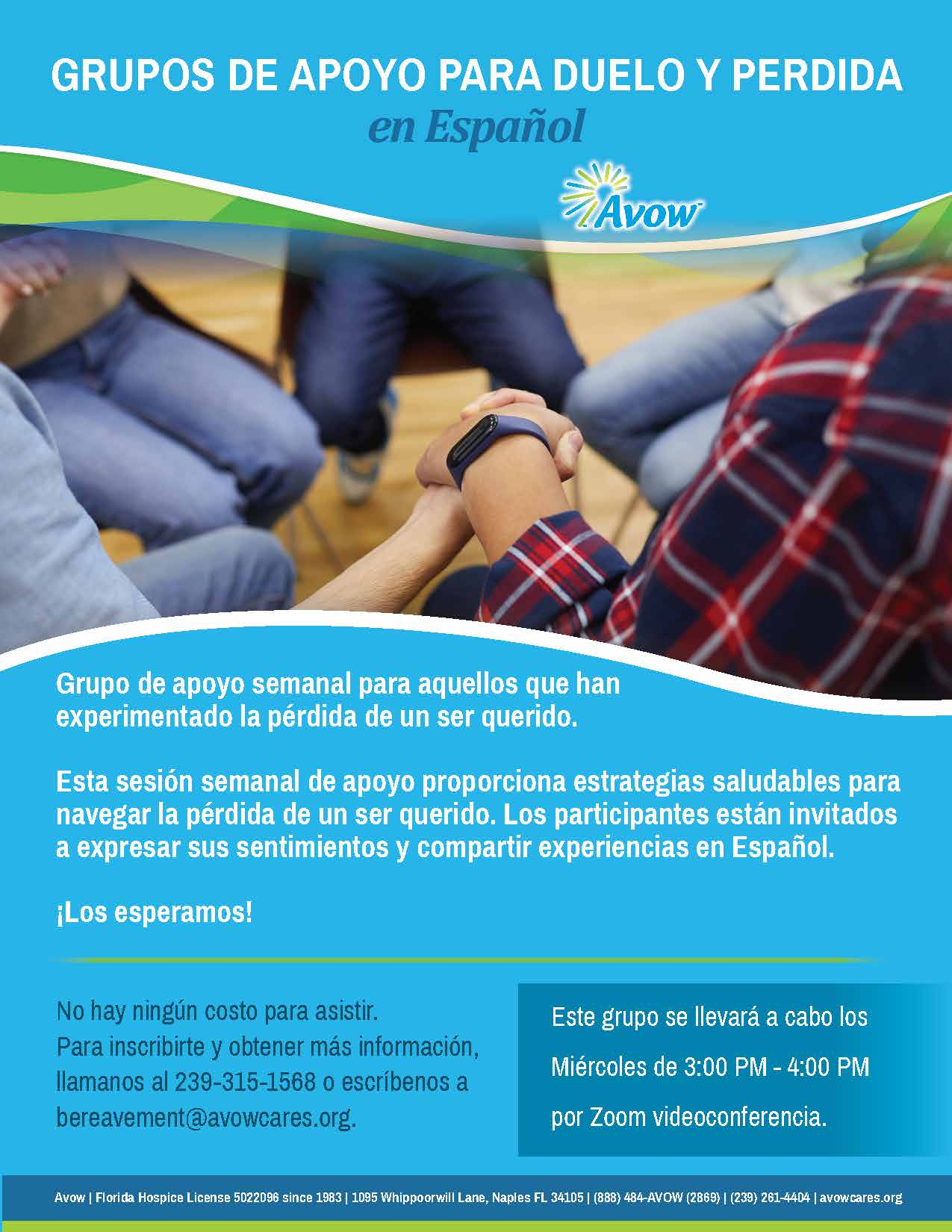Grupos de Apoyo para Duelo y Perdida en Español