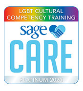 SAGECare Elder LGBT Care Certified