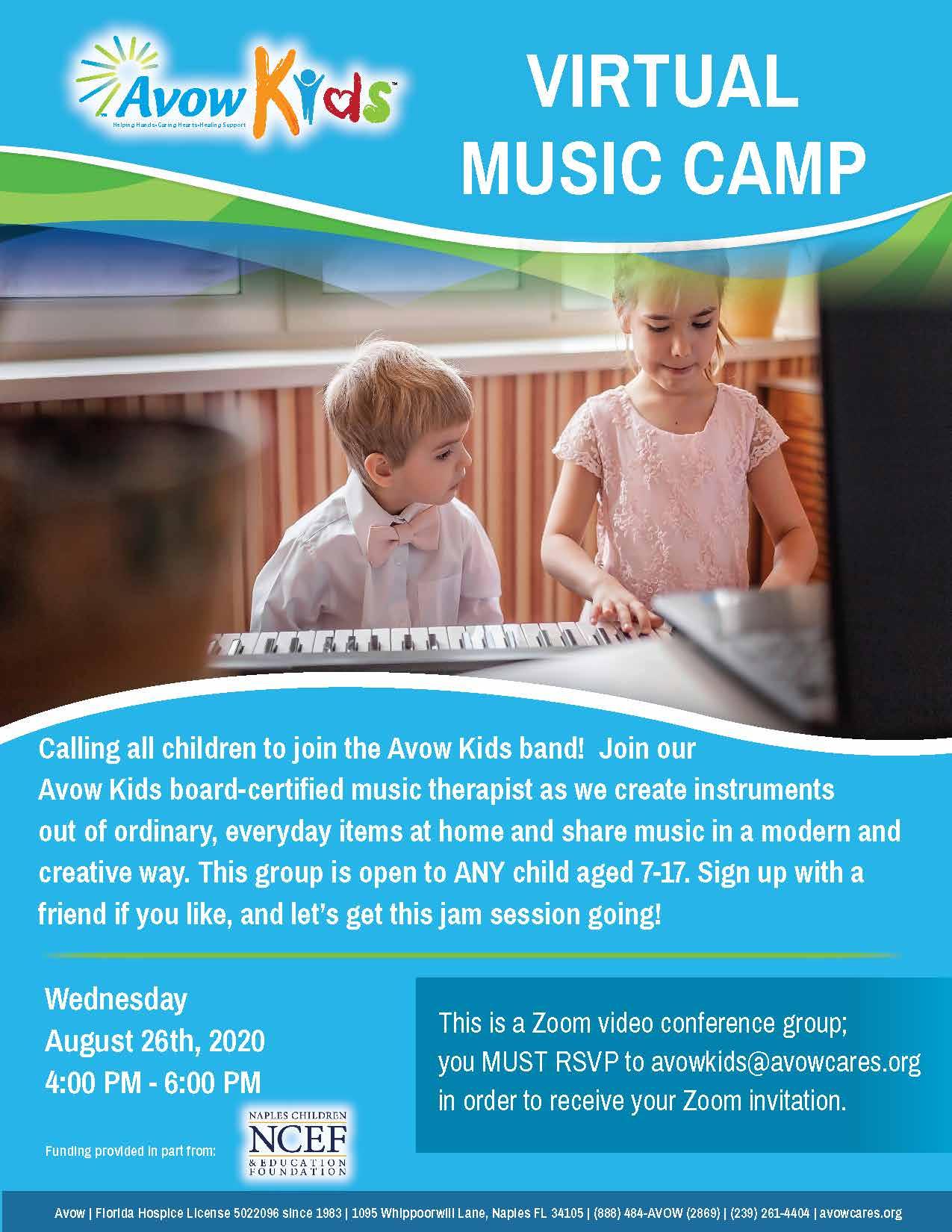 Virtual Music Camp