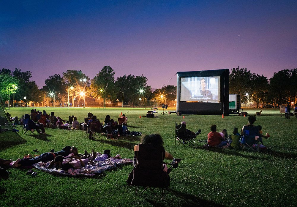 Avow Kids Outdoor Movie Night
