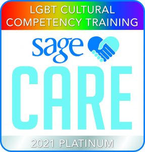 SAGE Care 2021 Platinum Partner LGBT Cultural Competency Training